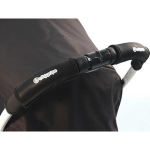 Чехлы Choopie CityGrips (Сити Грипс) на ручку для универсальной коляски 507/9464 Black Leather черная кожа