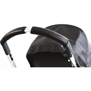 Чехлы Choopie CityGrips (Сити Грипс) на ручку для универсальной коляски длинные 505/9372 Black Leather черная кожа