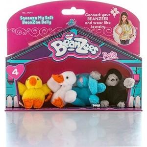 цены Игровой набор Beanzeez мини плюш в наборе Цыпленок, Утенок, Кролик, Горилла
