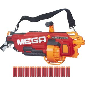 Бластер Hasbro Nerf МЕГА Мастодон игрушечное оружие nerf hasbro бластер мега лёгкий лук