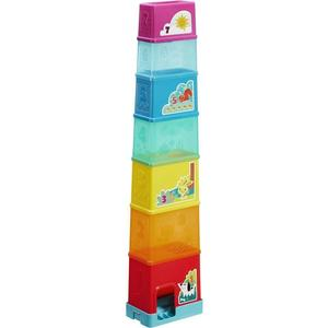 Пирамидка Hasbro Playskool Складная башня развивающие игрушки playskool пирамидка львенок