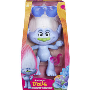 Игрушка Hasbro Trolls Большой Тролль Даймонд мягкая игрушка trolls тролль пушистик fuzzbert