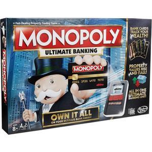 Hasbro с банковскими картами (обновленная) 6677 настольная игра hasbro монополия с банковскими картами обновленная b6677