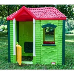 Little Tikes Игровой домик зеленый