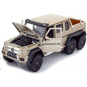 Модель машины Welly 1:24 Mercedes-Benz G63 AMG 6x6 чаша polaris pip 0505k black