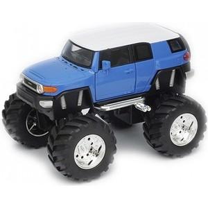 Модель машины Welly 1:34-39 Toyota FJ Cruiser Big Wheel toyota funcargo в омске