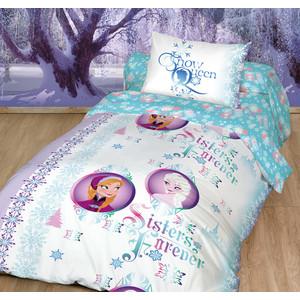 Детское постельное белье Disney Холодное Сердце. Сестры навек с наволочкой 50x70 (179458)