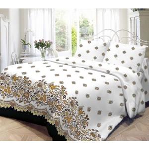 Комплект постельного белья Нежность 1,5 сп, поплин Кружево с наволочками 70x70 (701639)