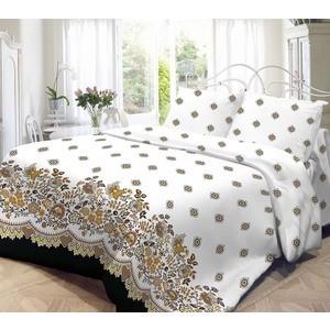 Комплект постельного белья Нежность 1,5 сп, поплин Кружево с наволочками 50x70 (701640)