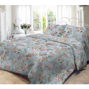 Комплект постельного белья Нежность 2-х сп, поплин Куршавель с наволочками 50x70 (701650)