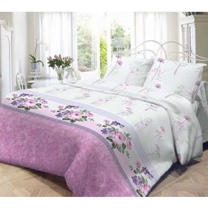 Комплект постельного белья Нежность Евро, поплин Флоренция с наволочками 70x70 (701636)