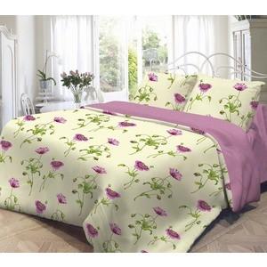 Комплект постельного белья Нежность Евро, поплин Весна с наволочками 50x70 (701885)