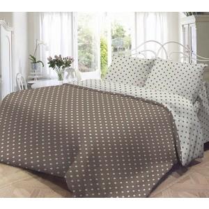 Комплект постельного белья Нежность Евро, поплин Мадлена с наволочками 70x70 (701891)