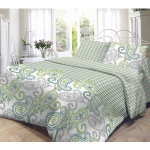 Комплект постельного белья Нежность Евро, поплин Оливия с наволочками 50x70 (702083)