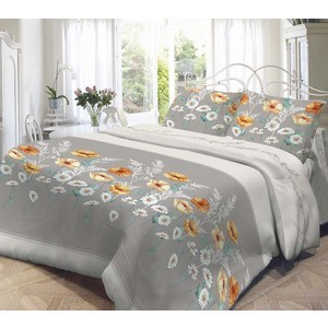 Комплект постельного белья Нежность 1,5 сп, поплин Марта с наволочками 50x70 (702072) набор для плетения браслетов simple fun 200 шт светящиеся в темноте
