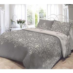 Комплект постельного белья Нежность Евро, поплин Виолетта с наволочками 50x70 (701666)
