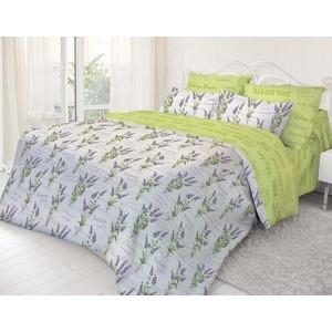Комплект постельного белья Нежность Евро, поплин Лаванда с наволочками 70x70 (199164)