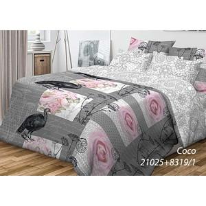 Комплект постельного белья Волшебная ночь 1,5 сп, ранфорс, Coco с наволочками 70x70 (701974)