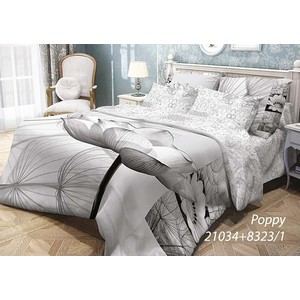 где купить  Комплект постельного белья Волшебная ночь 1,5 сп, ранфорс, Poppy с наволочками 70x70 (702134)  по лучшей цене