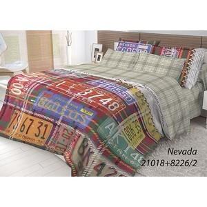 Комплект постельного белья Волшебная ночь Евро, ранфорс, Nevada с наволочками 50x70 (702164) dorsey kelley nevada cowboy dad