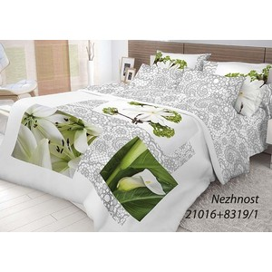 Комплект постельного белья Волшебная ночь 1,5 сп, ранфорс, Nezhnost с наволочками 70x70 (702246)