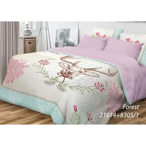 Комплект постельного белья Волшебная ночь 2-х сп, ранфорс, Forest с наволочками 70x70 (701914)