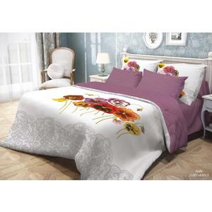 Комплект постельного белья Волшебная ночь 1,5 сп, ранфорс, Fialki с наволочками 50x70 (701929)