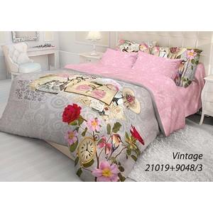 Комплект постельного белья Волшебная ночь 1,5 сп, ранфорс, Vintage с наволочками 50x70 (702100)