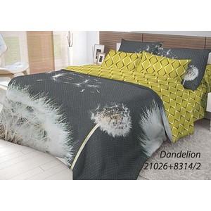 Комплект постельного белья Волшебная ночь 2-х сп, ранфорс, Dandelion с наволочками 70x70 (702175) комплект постельного белья волшебная ночь евро ранфорс wood с наволочками 70x70 701955