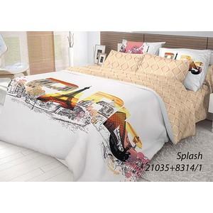 Комплект постельного белья Волшебная ночь 2-х сп, ранфорс, Splash с наволочками 50x70 (702197) комплект постельного белья гармония 1 5 сп поплин инджи с наволочками 50x70 192581