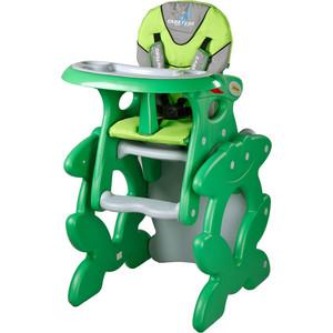 Стульчик для кормления Caretero и столик Primus Green (зеленый) homtom защищенный смартфон homtom ht20 зеленый green