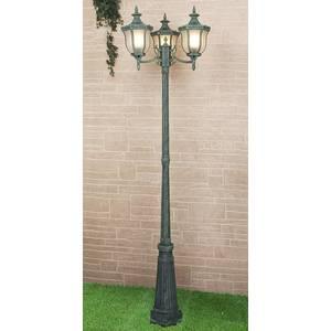 Уличный фонарь Elektrostandard Taurus F/3 малахит уличный настенный светильник taurus u малахит 4690389065118 elektrostandard 1168508