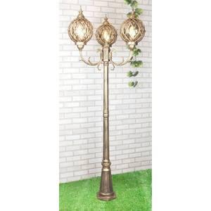 Уличный фонарь Elektrostandard 4690389017407 садово парковый светильник sirius 4690389017407 elektrostandard 1183814