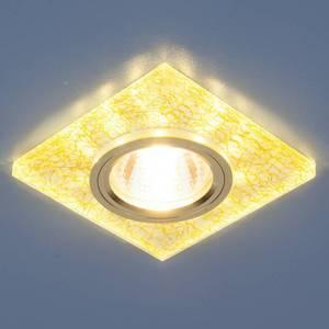 Точечный светильник с двойной подсветкой Elektrostandard 4690389060656