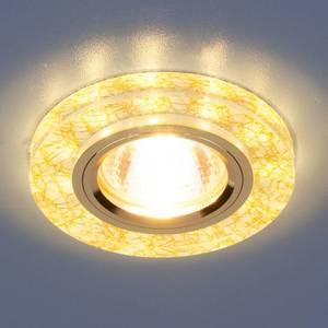 Точечный светильник с двойной подсветкой Elektrostandard 4690389060625
