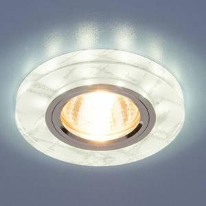 Точечный светильник с двойной подсветкой Elektrostandard 4690389060618 точечный светильник с двойной подсветкой elektrostandard 4690389060618