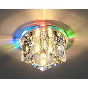 Точечный светильник с двойной подсветкой Elektrostandard 4690389003189 elektrostandard встраиваемый светильник с двойной подсветкой elektrostandard n4 s g4 multi мульти 4690389003189