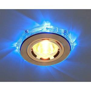 Точечный светильник с двойной подсветкой Elektrostandard 4607176194791 точечный светильник с двойной подсветкой elektrostandard 4690389060618