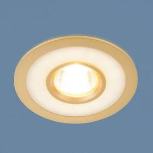 Точечный светильник с двойной подсветкой Elektrostandard 4690389061684