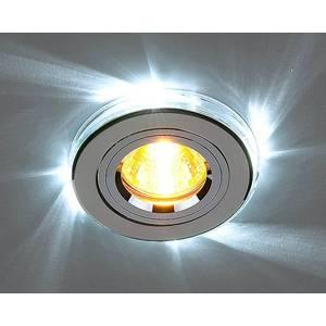 Точечный светильник с двойной подсветкой Elektrostandart 4690389007484 от ТЕХПОРТ