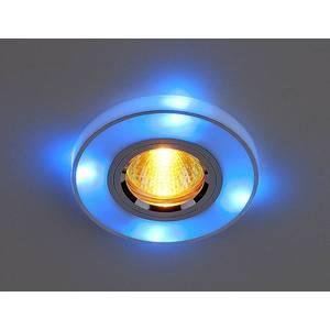 Точечный светильник с двойной подсветкой Elektrostandart 4607176196313