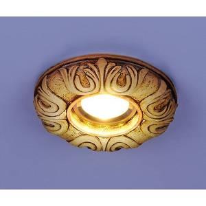 Точечный светильник с двойной подсветкой Elektrostandart 4690389030475