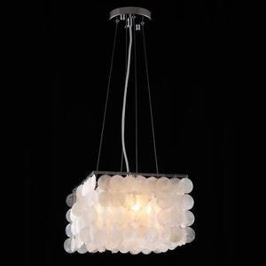 Подвесной светильник Eurosvet 60022/4 хром/перламутр eurosvet потолочая люстра eurosvet 60020 4 хром перламутр