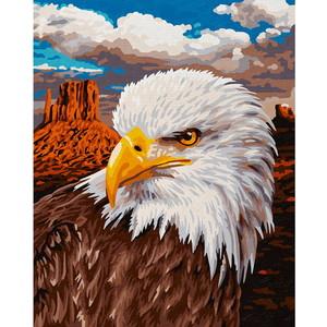 Картина по номерам Schipper 24х30 см, Белоголовый орлан