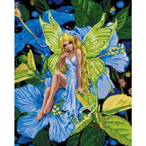 Картина по номерам Schipper 40х50 см, Цветочный эльф