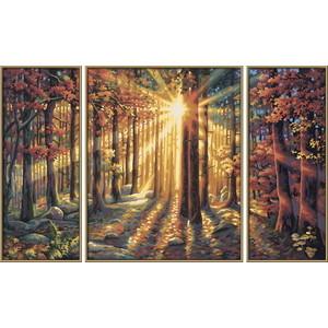 Картина по номерам Schipper Триптих Осенний лес, 50х80 см schipper триптих африканские слоны