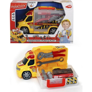 Машинка - чемоданчик Dickie Механик с аксессуарами, 33см радиоуправляемые игрушки dickie самолет рипслингер