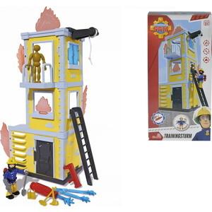 Игровой набор Simba Пожарный Сэм - Большая тренировочная база с фигуркой и акс., 42см игровой набор simba пожарный сэм большая тренировочная база с фигуркой и акс 42см