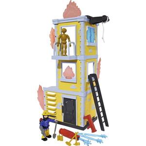 Игровое набор Simba Пожарный Сэм - Большая тренировочная база с фигуркой, 42см* игровой набор simba пожарный сэм большая тренировочная база с фигуркой и акс 42см