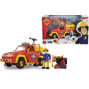 Фотография товара машина Simba Пожарный Сэм - со звуком и функцией воды, 19см + фигурка (591514)